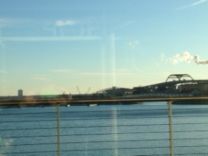 A great view in Milwaukee is at Discovery World